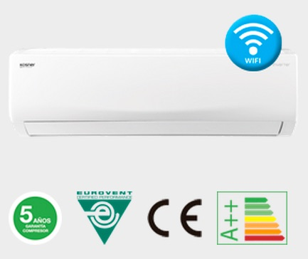 Split domestico Inverter Luxe Wifi