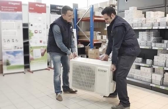 tecnicos aire acondicionado kosner